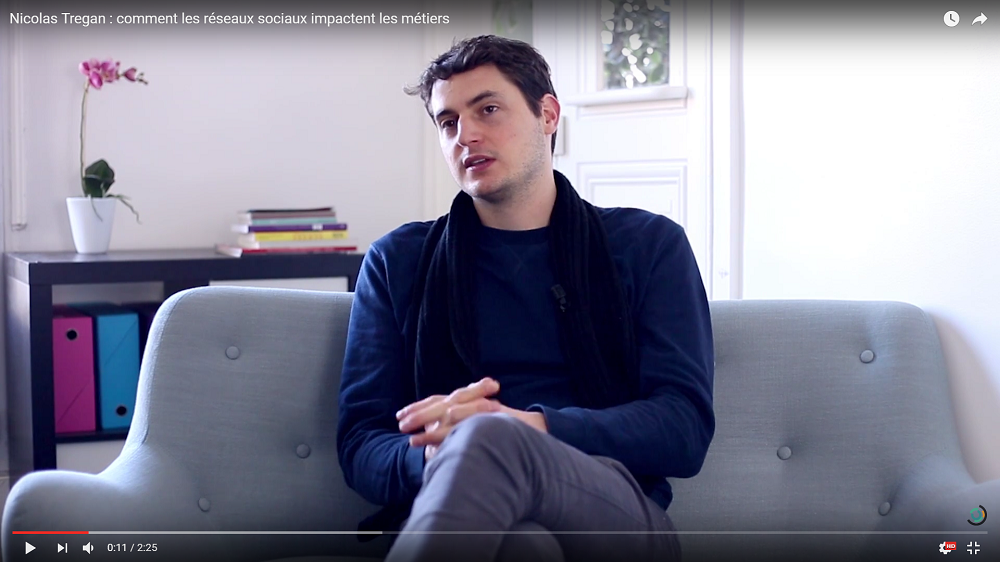 Nicolas Tregan nous explique comment tous les métiers peuvent tirer parti des réseaux sociaux.