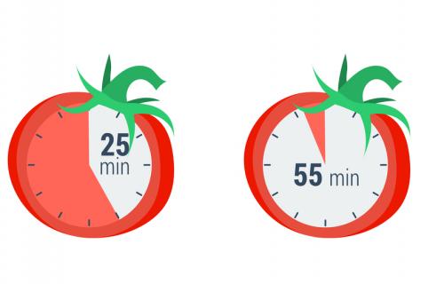 Méthode Pomodoro : découper son emploi du temps en tomate