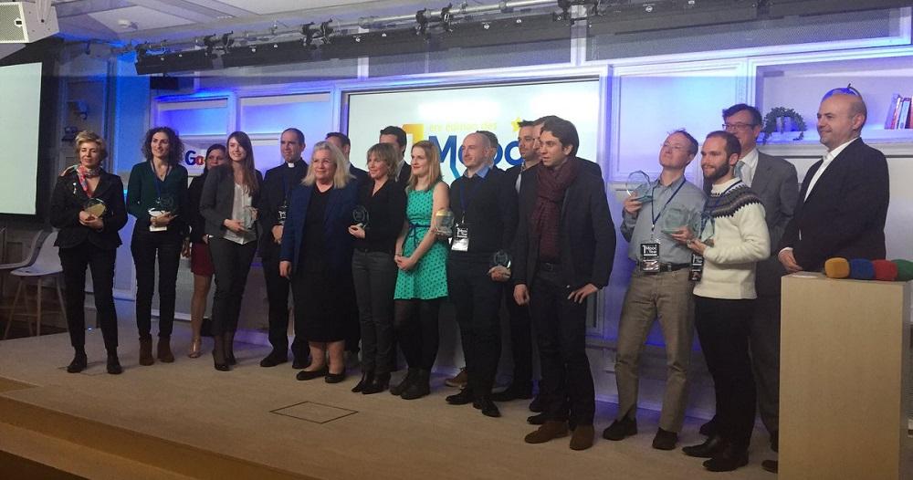Unow a été récompensée trois fois lors de la première cérémonie des MOOC of the year !