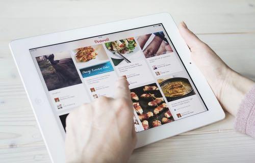 Le réseau social d'images Pinterest