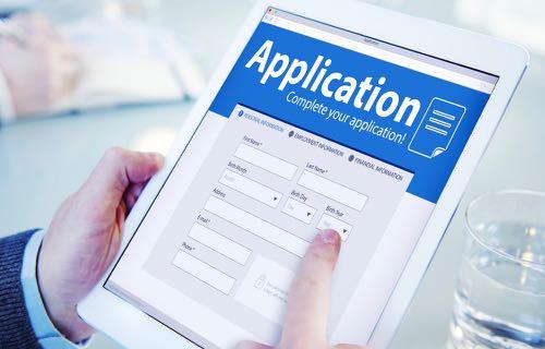 Recherche de jobs sur tablette mobile ou smartphones