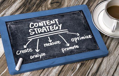 Le marketing de contenus comme une stratégie